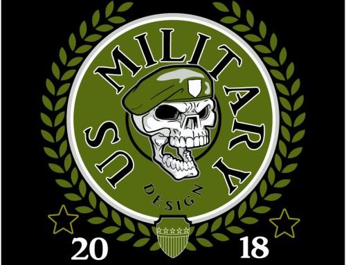 Military-Military Skull