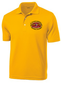 Our Shriners Hospital Polo Shirt with Oval Helping Children logo