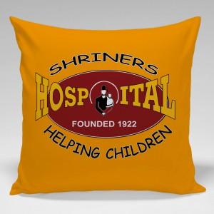 Custom made Shriner's Hospital Pillow
